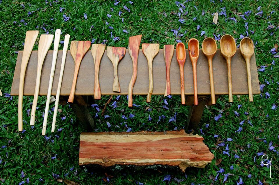 ブラジル・木工作家のキッチン工芸