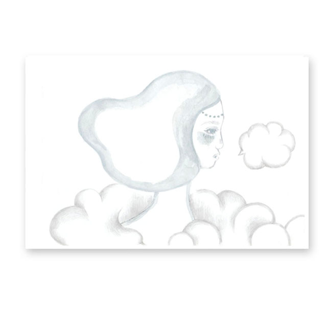 ほっとしたいときは雲のうえに思いをはせて、雲のようなため息をつこう。