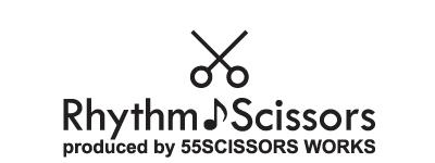 """「Rhythm Scissors」のシザーズ。テーマは""""Simple""""ヘアスタイルを創るのみ機能美。"""