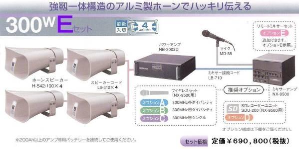 【通販型】選挙用 アンプ・スピーカー レンタル【送料別】