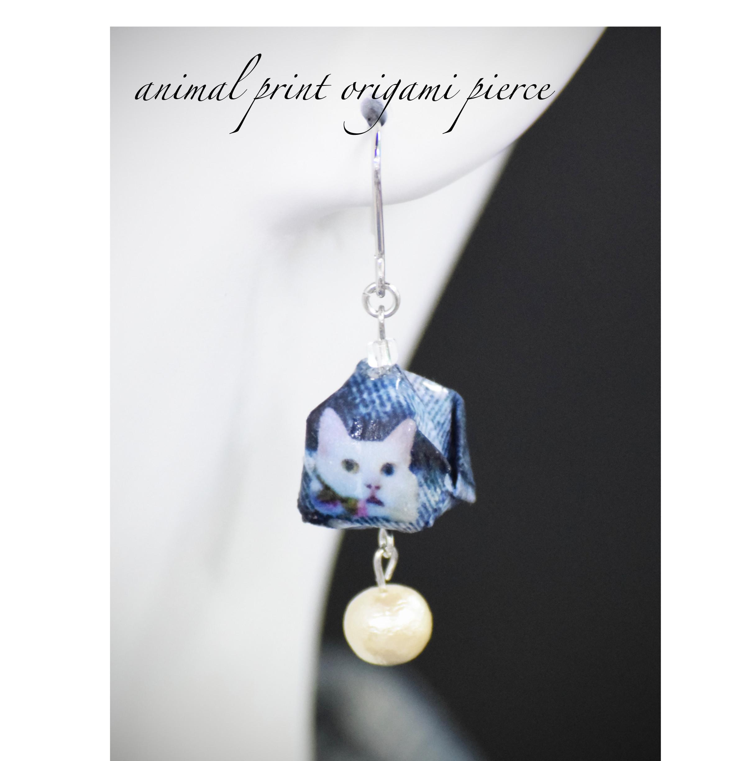 『動物の顔が折紙の風船に!?。。。』