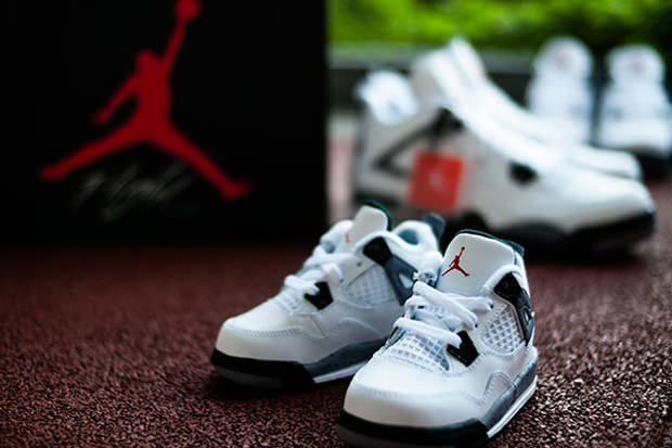 "Air Jordan 4 ""89"" キッズサイズ画像を入手⭐︎"