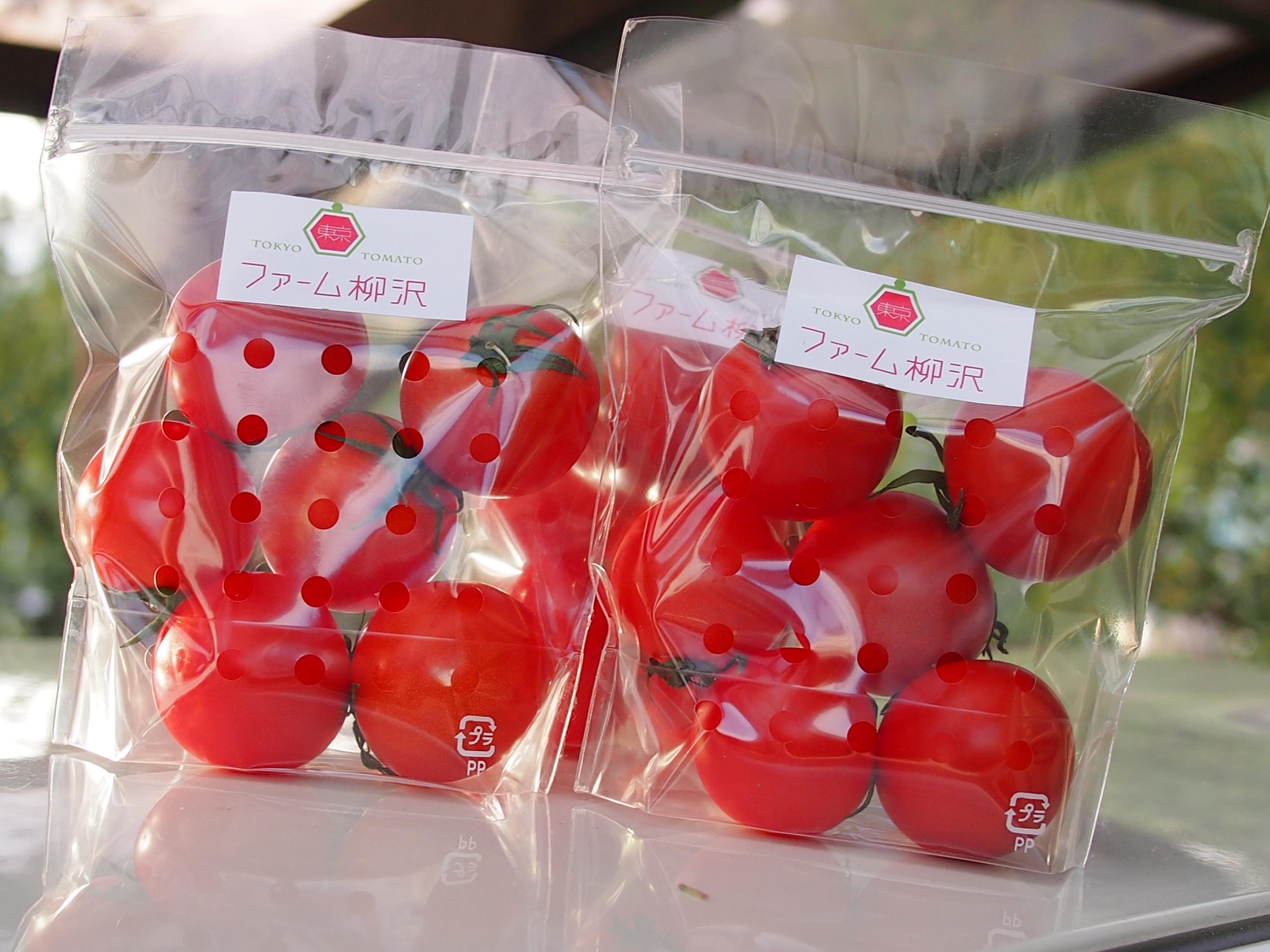 東京トマトは酸味と甘味がバランス良いトマトです。