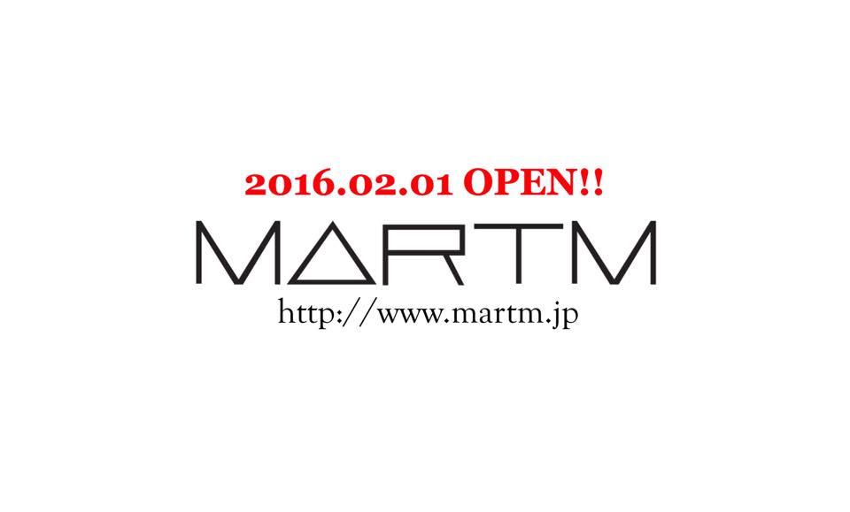 2016.02.01 MARTM OPEN!!!!!