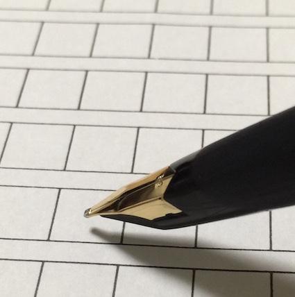 万年筆の持ち方について