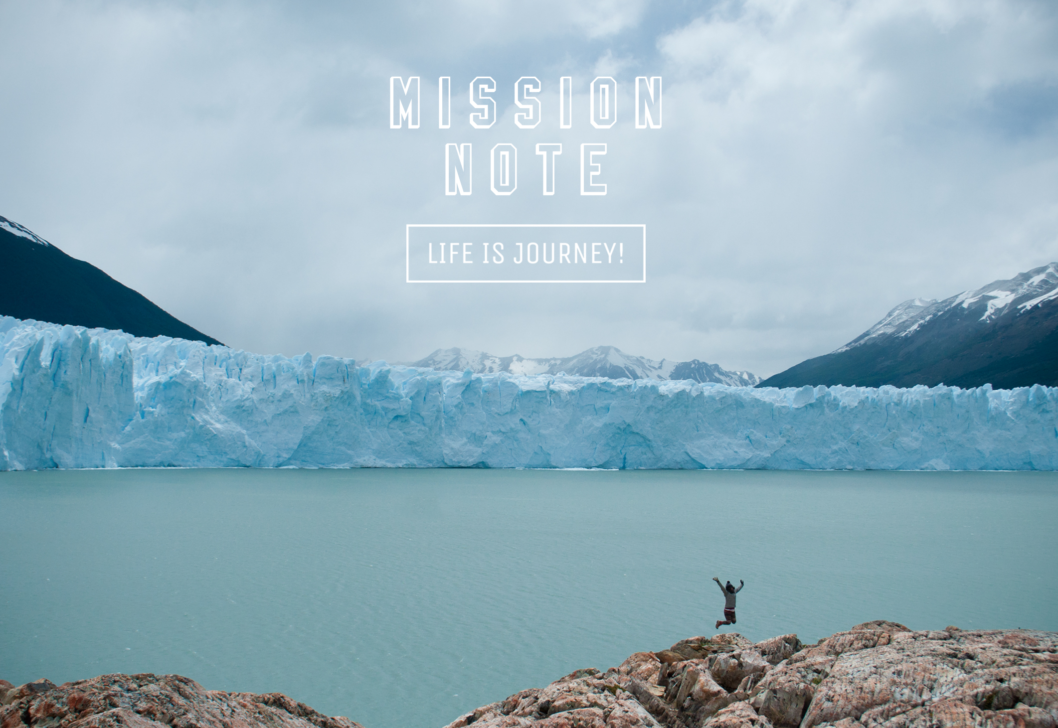 LIFE IS JOURNEY!「MISSION NOTE」展開催中です!