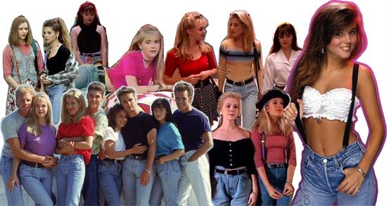 お洒落な女の子たちのトレンドアイテム、Mom Jeans (マム・ジーンズ)。