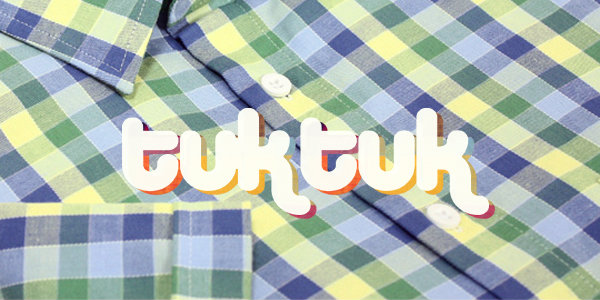 父の日のプレゼントにも。ブリティッシュシャツブランド TukTuk/トゥクトゥク。
