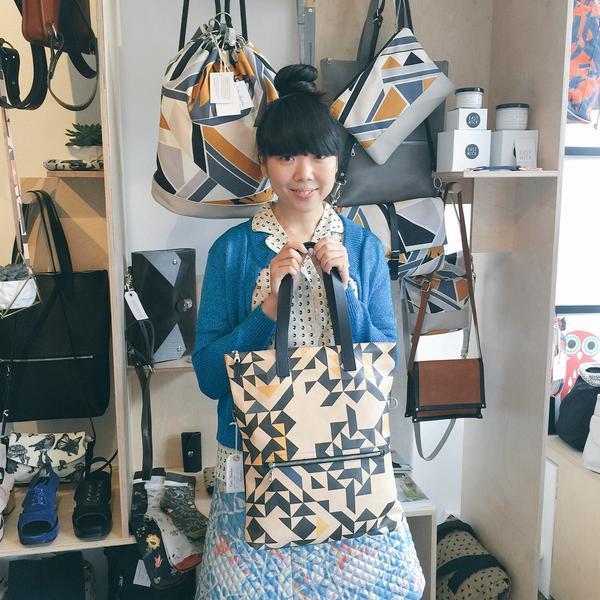ファッションブロガー Susie BubbleもチェックしているKate Sheridanのバッグ▼