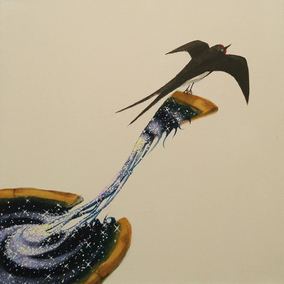 原田章生絵画展「とろけるセカイ」