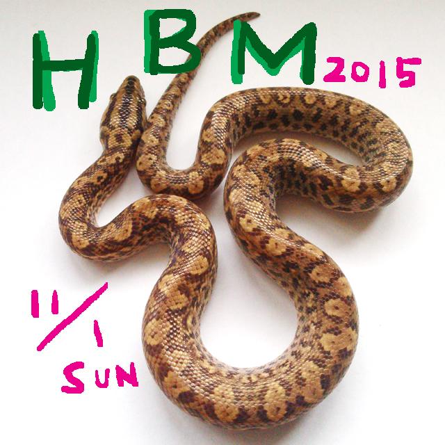 HBM2015出店します!