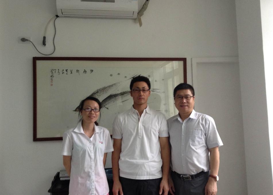 2015年6月ブログより 無事、上海から戻りました