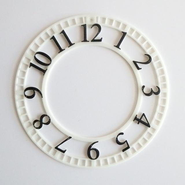 文字盤の2色印刷
