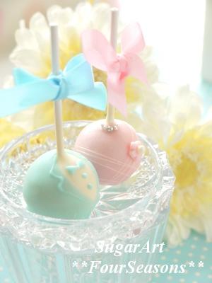 キャンディービュッフェ用ケーキポップ