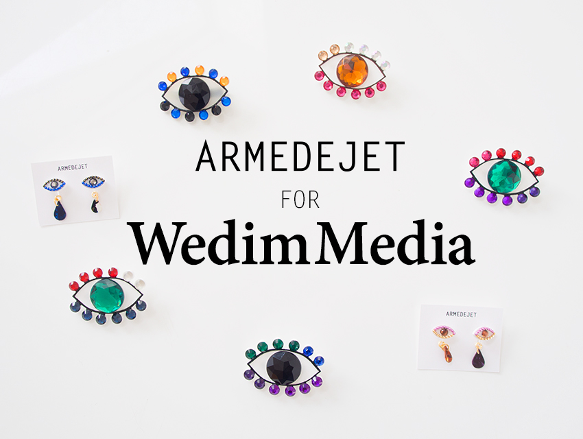 ARMEDEJETのアイテムが、WedimMedia公式グッズとして販売開始!