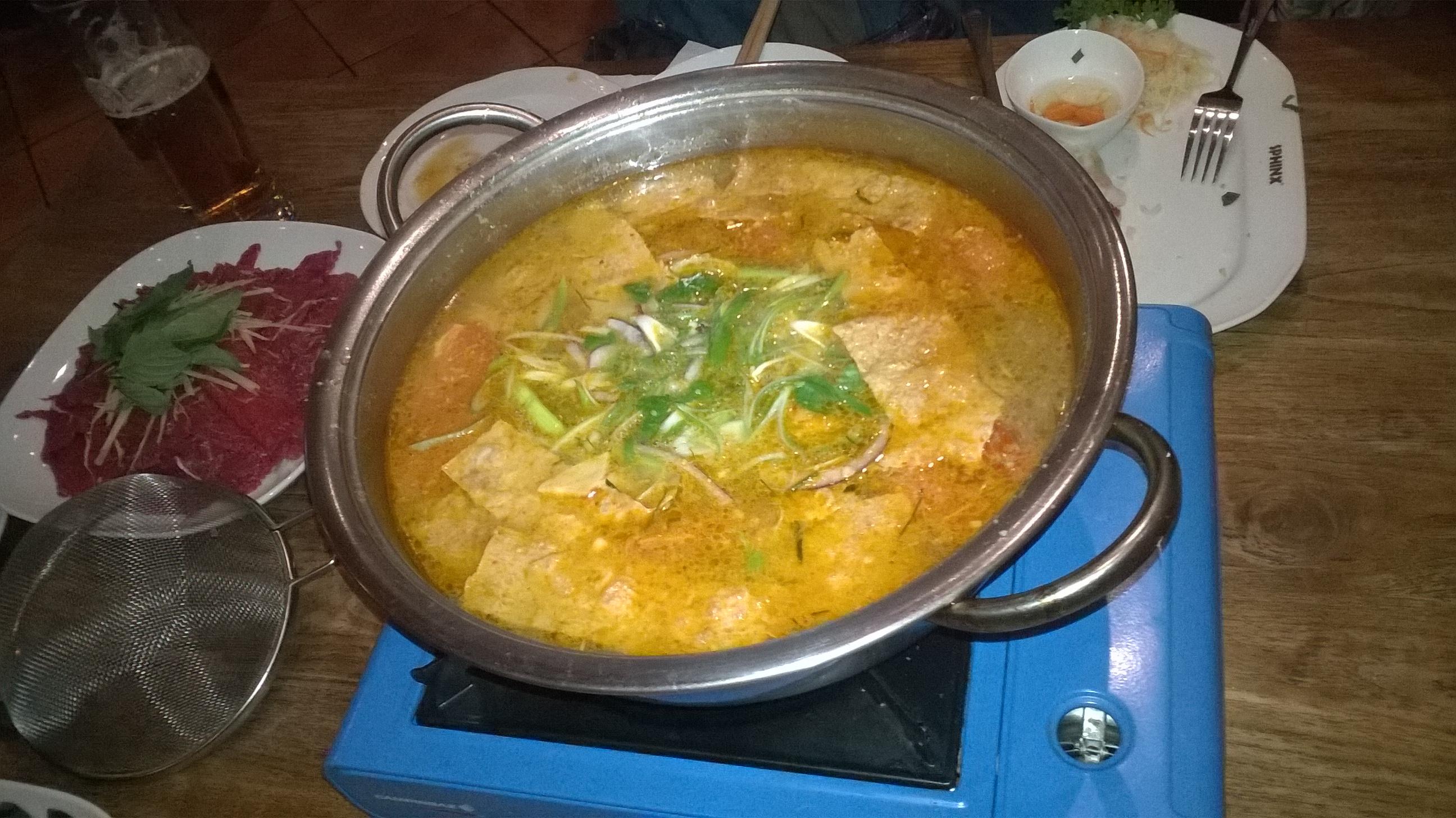 チェコ ベトナム鍋