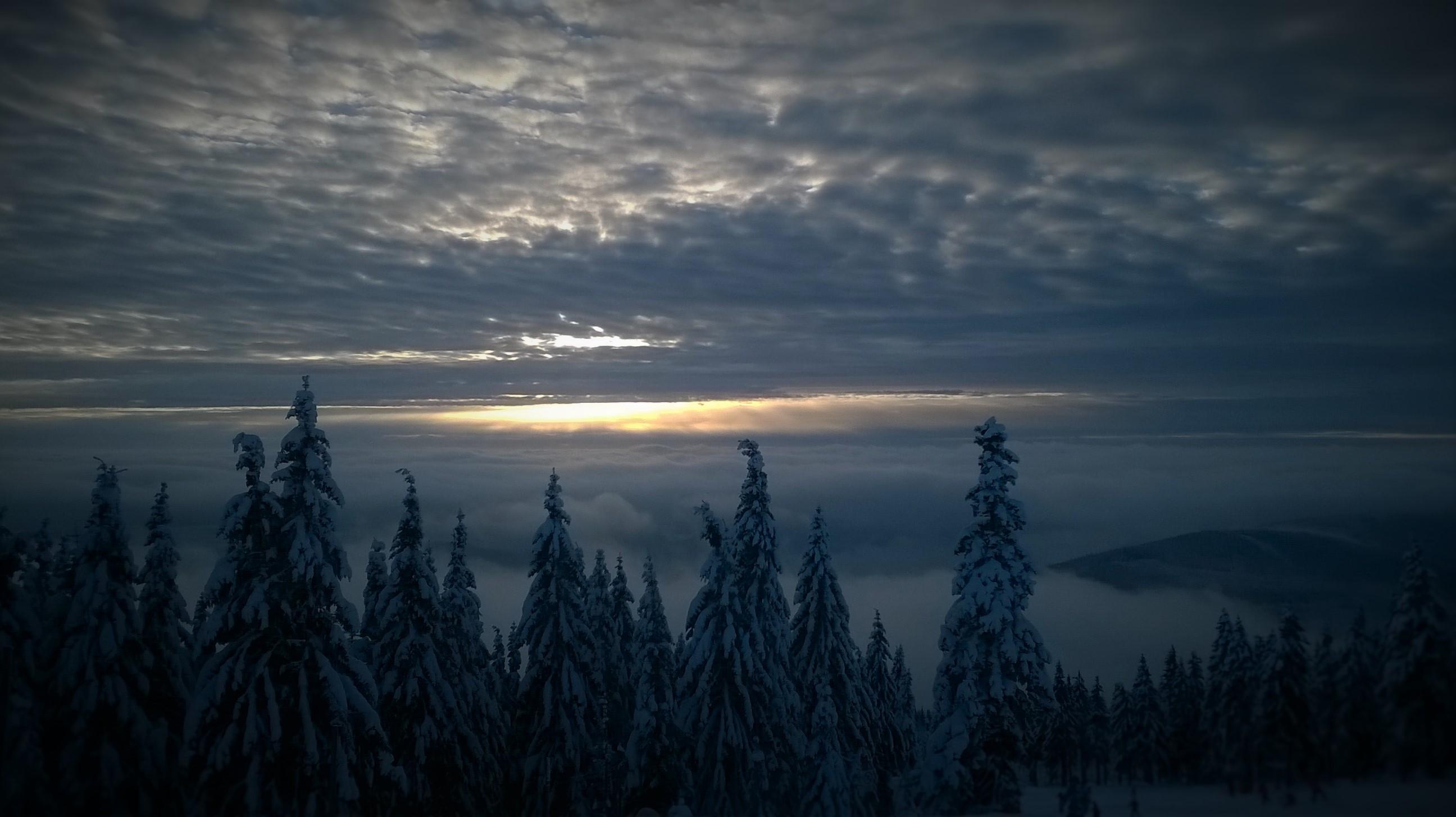 チェコ 雪の島