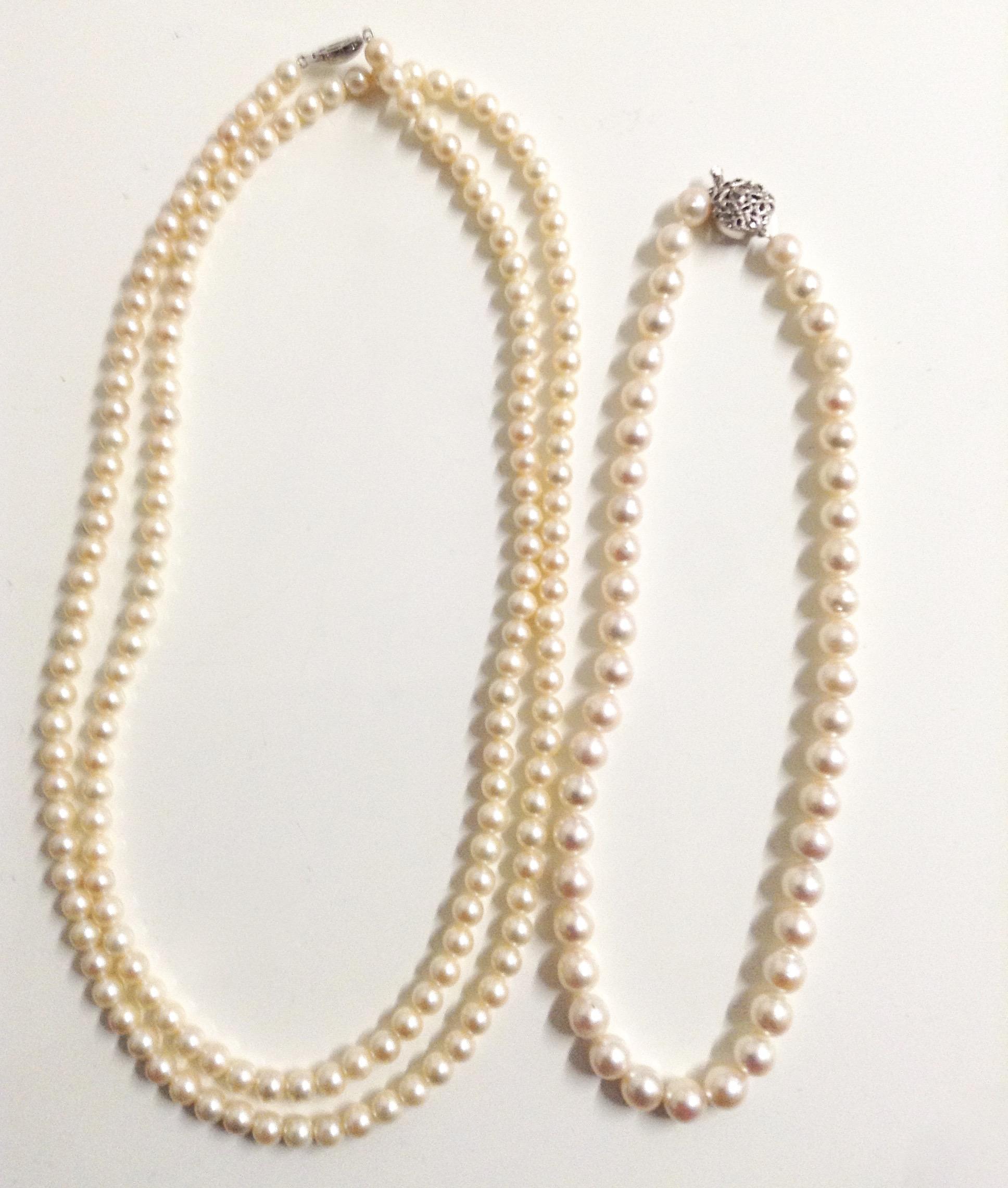 本物の真珠とイミテーション真珠の見分け方