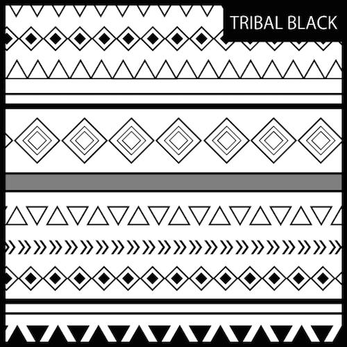 FUN SIDE tribal Black/White…