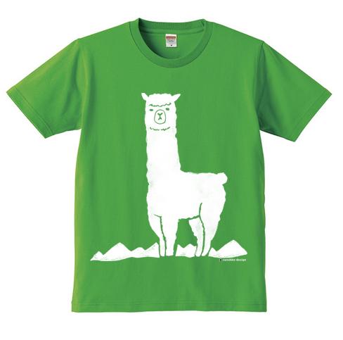 アルパカTシャツにキッズサイズが登場!