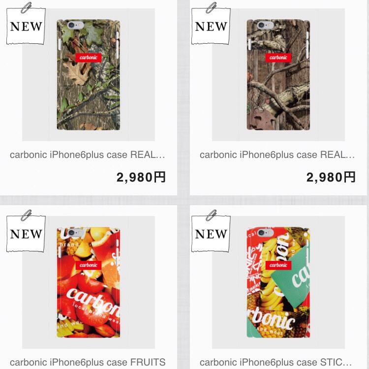 carbonic iPhone6plus ケース販売開始
