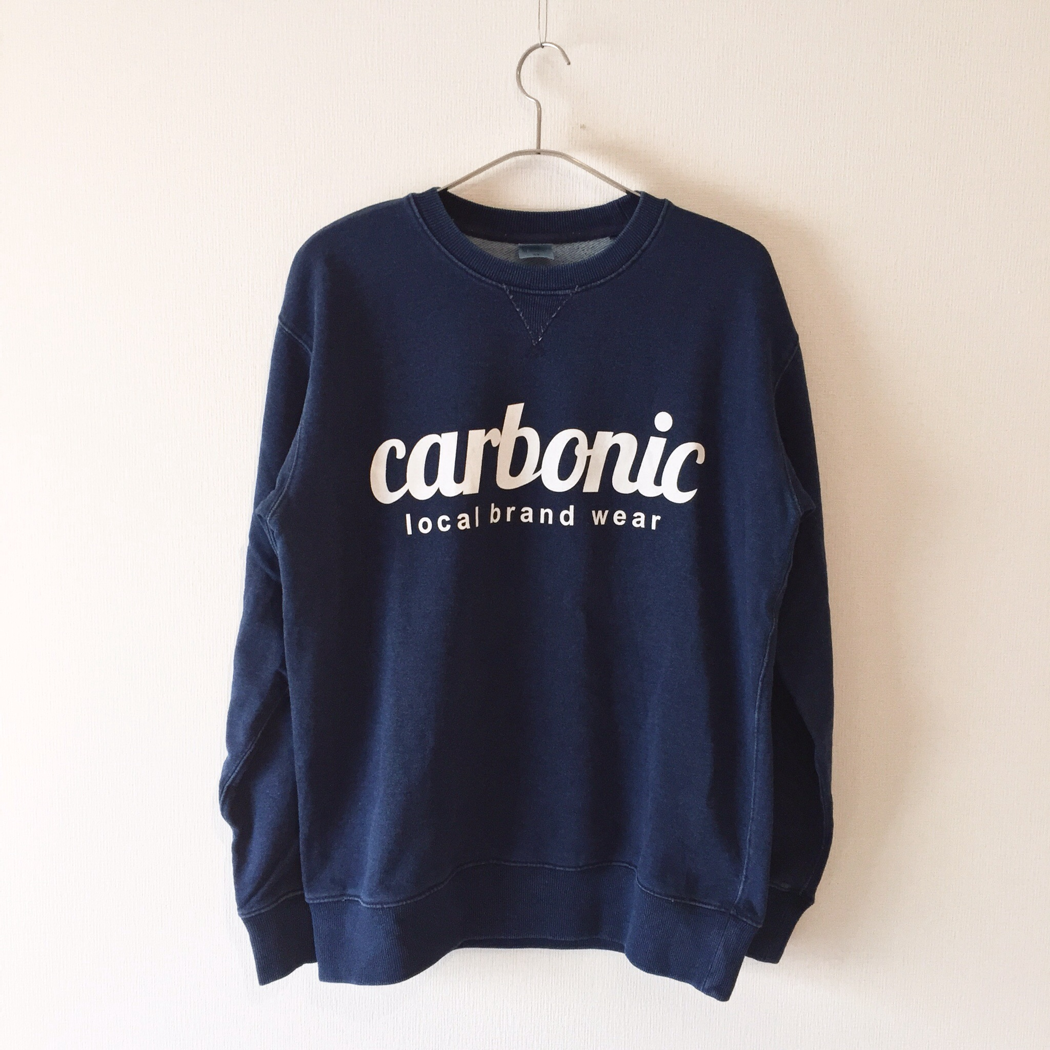 carbonic STD denim sweat 入荷しました。