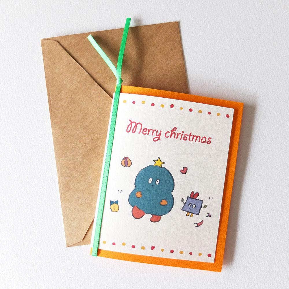 クリスマスカード|いしやま暁子