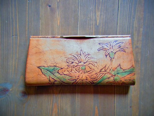 半世紀前のお財布をリメイク