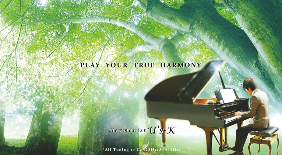 ハーモニスト・ユースケのヒーリングミュージックCD・演奏会チケット販売 | Peaceful Music Shop
